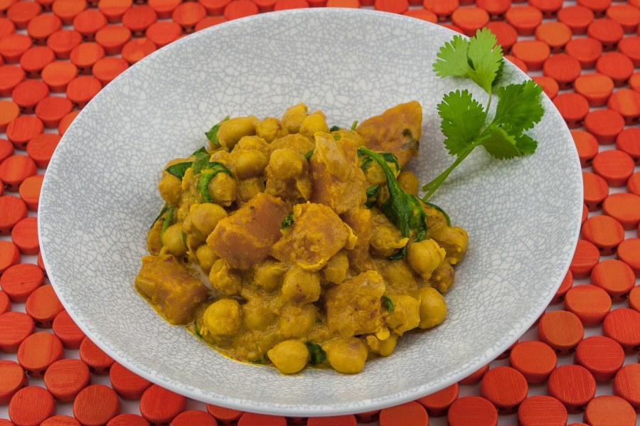 Indian Inspired Chickpea Curry