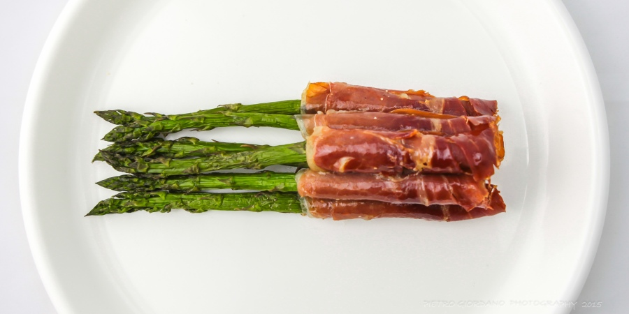 Grilled Asparagus withProsciutto