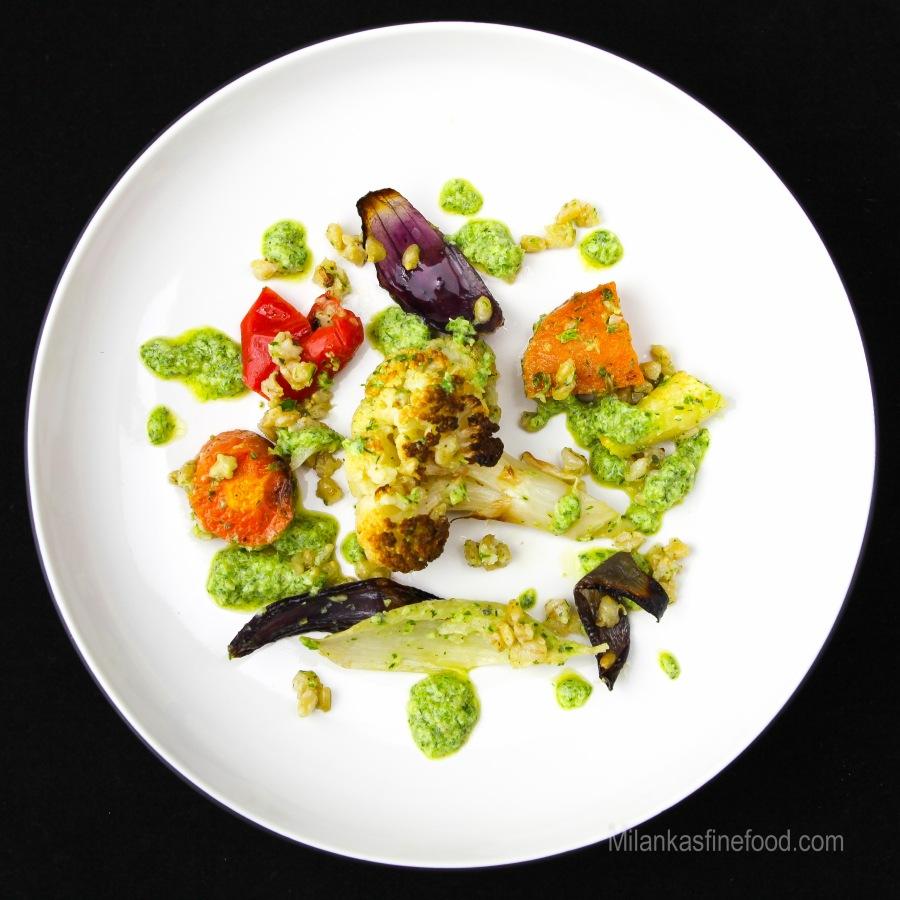 Roast Vegetable & Pearl BarleySalad