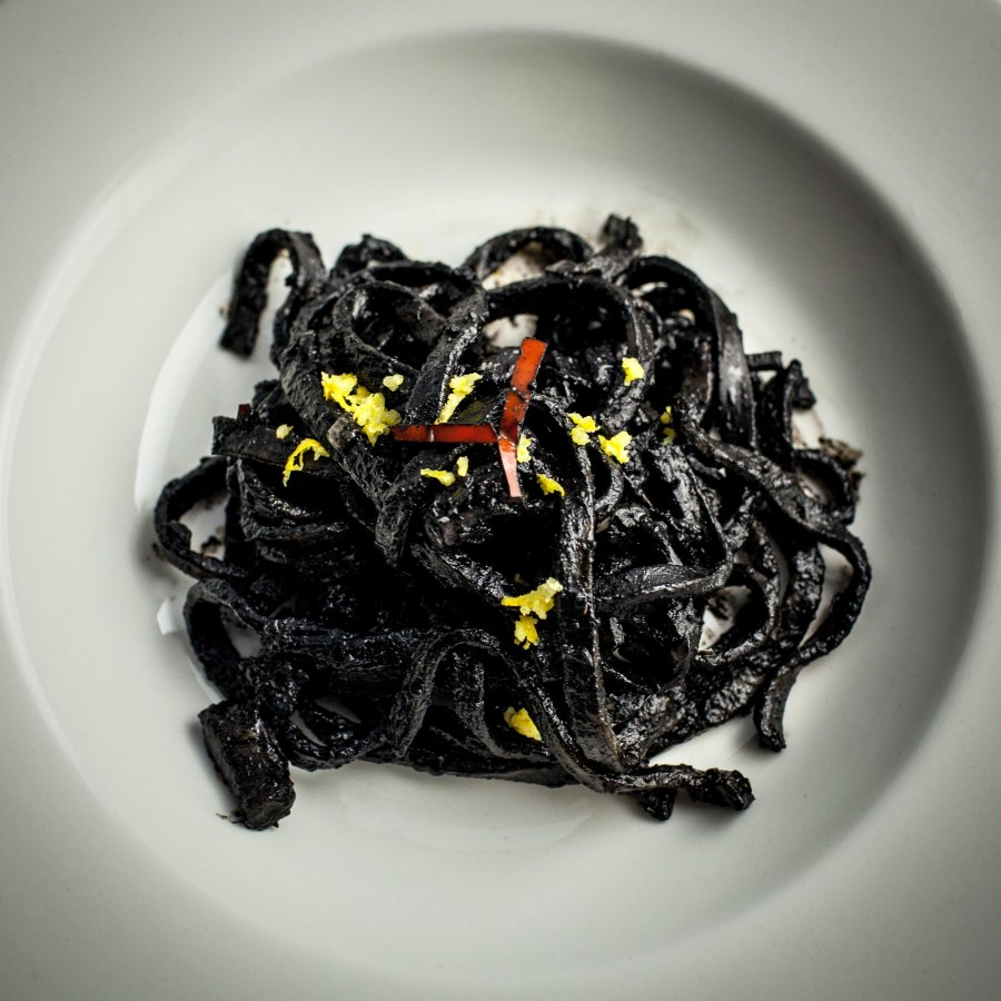 Austin's Squid Ink Pasta